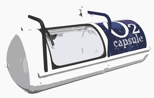 酸素カプセルイメージ
